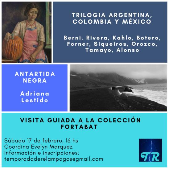Trilogia argentina, colombia y méxico flyer
